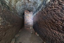 Intriguing tunnel in the same area.