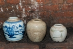 Three Ginger jars, all complete