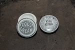 Cold Cream Jar and Lid