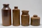 Stroneware jars
