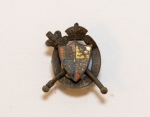 Possibly an Queen Victoria Jubilee Badge or Brooch, dated 1887