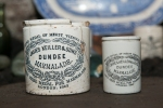 Two different size Dundee Marmalade Jars