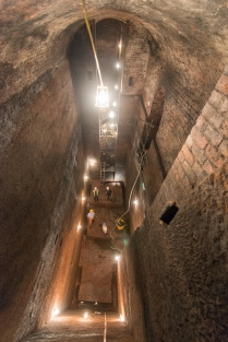 The Empty Ash Chamber, peering down from Level 3